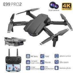 Título do anúncio: Drone e99 pro2 1080p duas câmeras wifi fpv volta com um toque - pronta entrega