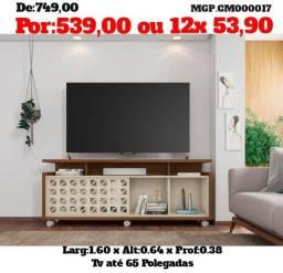 Rack de televisão até 65 Polegada- Estante de TV- Promoção MS