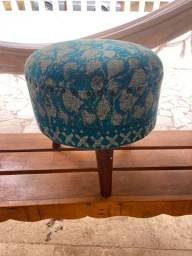 Banco/cadeira azul