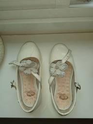 Sapato bibi infantil número 27