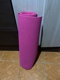 Título do anúncio: Tapete rosa para yoga