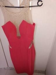 Vestido MIDI rosa!