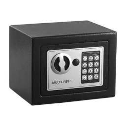 Título do anúncio: Cofre Eletrônico Multilaser 17x23x17cm Pret
