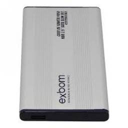 "(WhatsApp) case hd externo notebook sata 2.5"" usb slim - exbom - cghd-10"