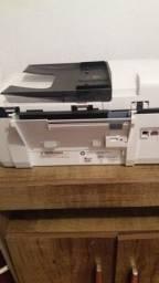 Monitor e impressora