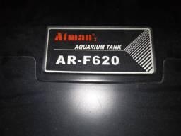 Título do anúncio: Aquário vidro curvo ATMAN AR-F620