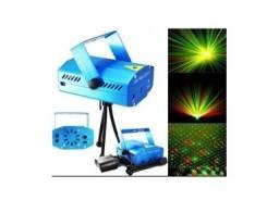Mini Projetor Holográfico Laser Com Efeitos de pontos + Mini Tripé