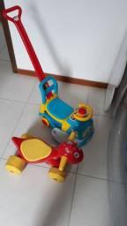 Dino andador/ carrinho de passeio