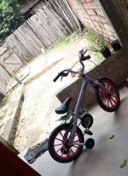 Bicicleta infantil idade de 3 a 9anos