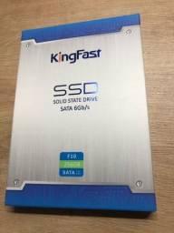 "SSD SATA3 6GB/s 2,5"" KingFast novos lacrados a partir de R$200,00"