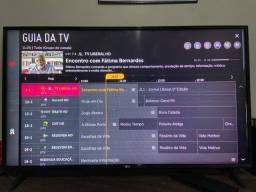 Smart TV LG 43? com tela trincada