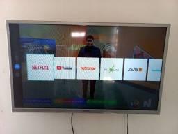 Vendo ou troco  smart tv semp 32