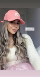 Boné Ny New York Aba Curva Masculino/feminino Snapback Top !