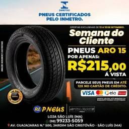 Título do anúncio: Pneus de qualidade e só aqui com a rl pneus