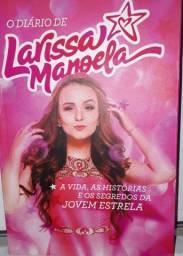 O Diário de Larissa Manoela;Livro autografado; sem rabiscos, riscos ou danificações