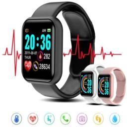 Título do anúncio: Y68 d20 relógio inteligente 2020 para homens mulheres monitor de frequência cardíaca