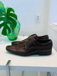 Título do anúncio: Sapato social 43 (marrom) couro ecológico