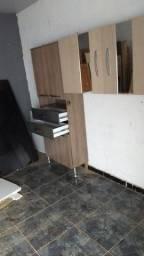 armário cozinha entrego e fixo na parede
