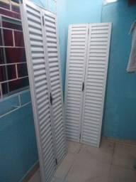 Portas venezianas 2,10x72