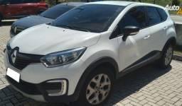 Renault Captur Zen 1.6, Autom., 2018/2019. Branco, Completo.