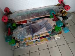 Skates long boards profissionais, todos novos preços variados.