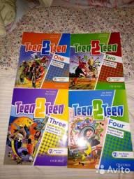Inglês Kids Teen2Teen Oxford apartir 8 anos crianças