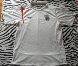 Linda camisa Inglaterra 2006.