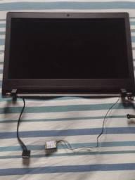 Tela slim com carcaça do Notebook Lenovo Ideapad 110-14 IBR