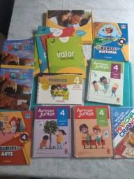 Livros - Aprender Juntos 4 ano e outros