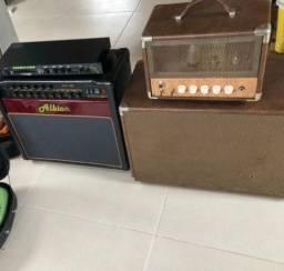 Amplificadores gato preto albion tct 35