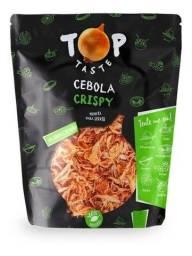 Título do anúncio: Cebola Frita Crocante Top Taste Pacote 1kg Lacrado