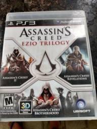 Jogo de PS3 Assassins Creed trilogia