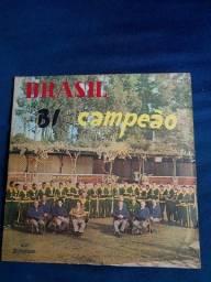 Vinil LP Brasil Bi campeão mundial (item colecionador)