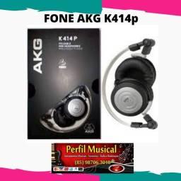 Fone de ouvido profissional Akg K414p fazemos entregas