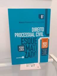 Processo Civil Esquematizado - Ótimo Estado