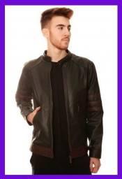 Título do anúncio: Jaqueta de Couro Masculina 100% Legítimo Original - Modelo Wolverine