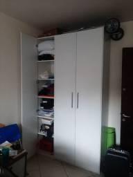 Guarda Roupas 3 portas e espelho armário para banheiro