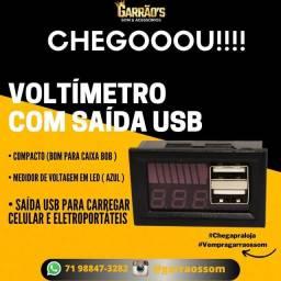 Título do anúncio: Voltímetro digital com USB