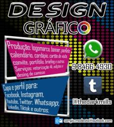 Título do anúncio: Design Gráfico