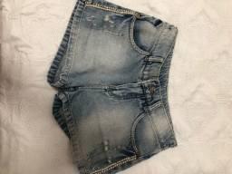 Short jeans TAM 12 - veste TAM 10