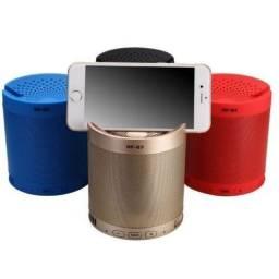 Caixa de som Bluetooth Wireless Multifuncional USB Sd Aux MP3 Suporte para Celular - 8302
