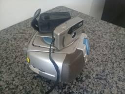 Rádio portátil & máquina fotográfica!