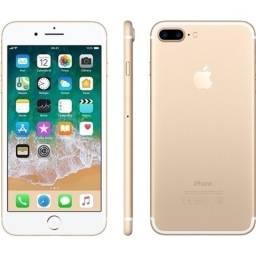 IPhone 7 Plus 128GB e 32GB, seminovos, Nota Fiscal + Garantia