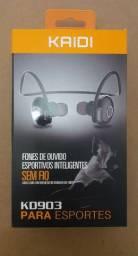 Kaidi fones de ouvido esportivos inteligentes