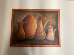 Título do anúncio: Quadro pintura em Tela Tamanho Grande