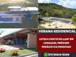 Título do anúncio: Verana Residencial, lotes a partir de 275m² em Camaçari - Maravilhoso