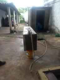 Tanque de combustível em fibra capacidade 450 lts