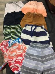 8 shorts de menino