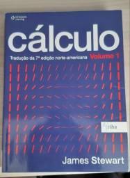 Livro Cálculo Volume 1, James Stewart comprar usado  Curitiba