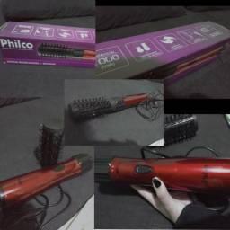 Escova modeladora+ secadora semi nova